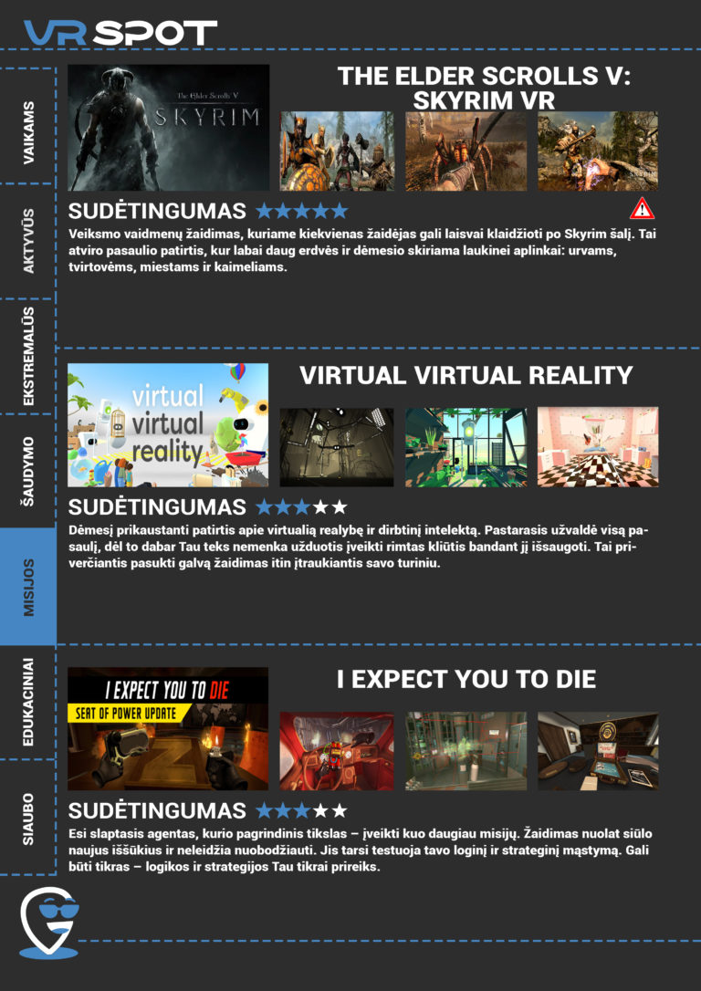 Virutalios realybės pramoga